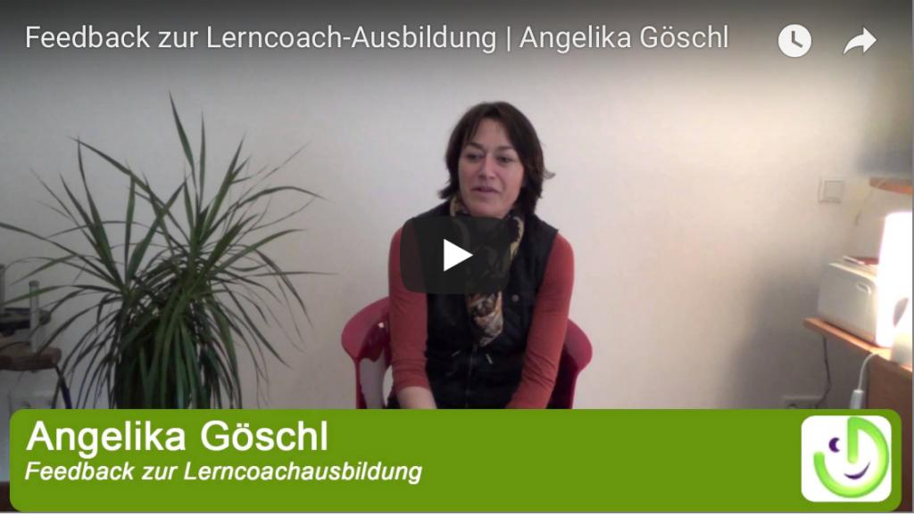 Feedback Lerncoach Ausbildung Angelika Göschl