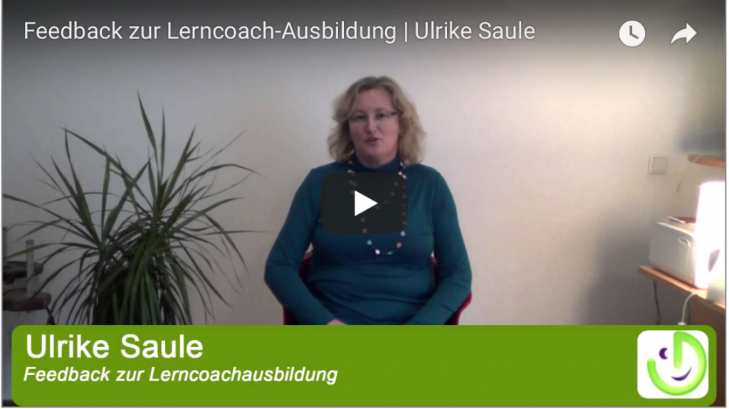 Lerncoach Ausbildung, Feedback, Ulrike Saule