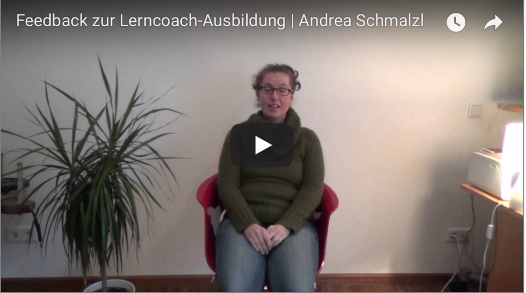 Lerncoach Ausbildung, Regensburg, Feedback, Andrea Schmalzl