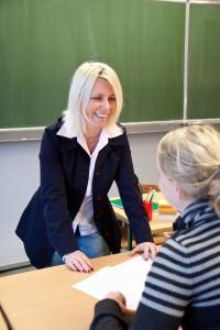 Lehrerin, Lehrer, erfolgreich lehren, Schüler, Unterricht, Schule