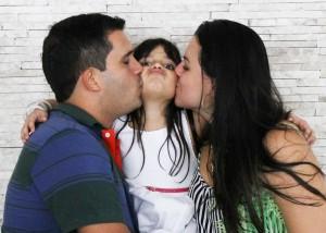 Liebe, lernen, Eltern, Kind