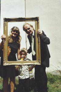 Lerncoach Alexandra Aldinger mit Sohn und Mann